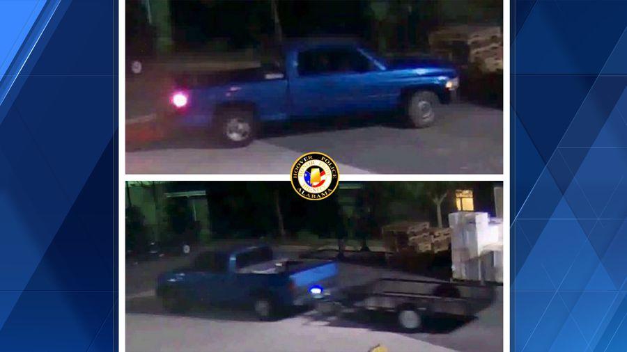 hoover trailer theft