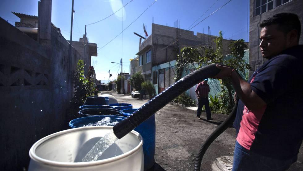 Un masivo corte agrava la crisis del agua en México