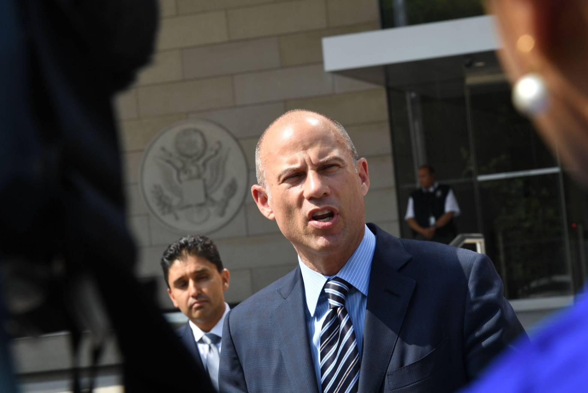 El abogado Michael Avenatti, azote de Trump, detenido por violencia machista