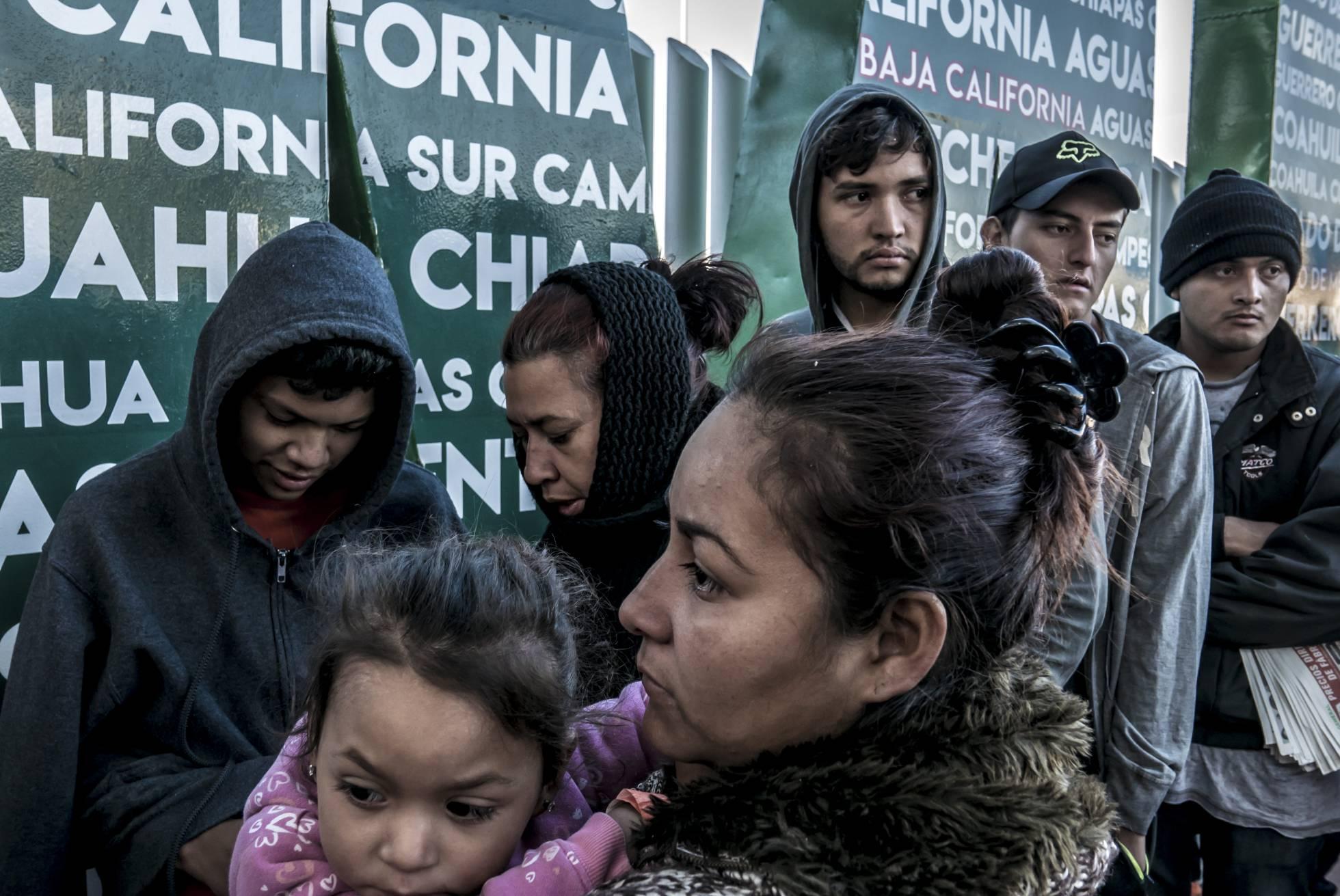 1 migrantes en el chaparral