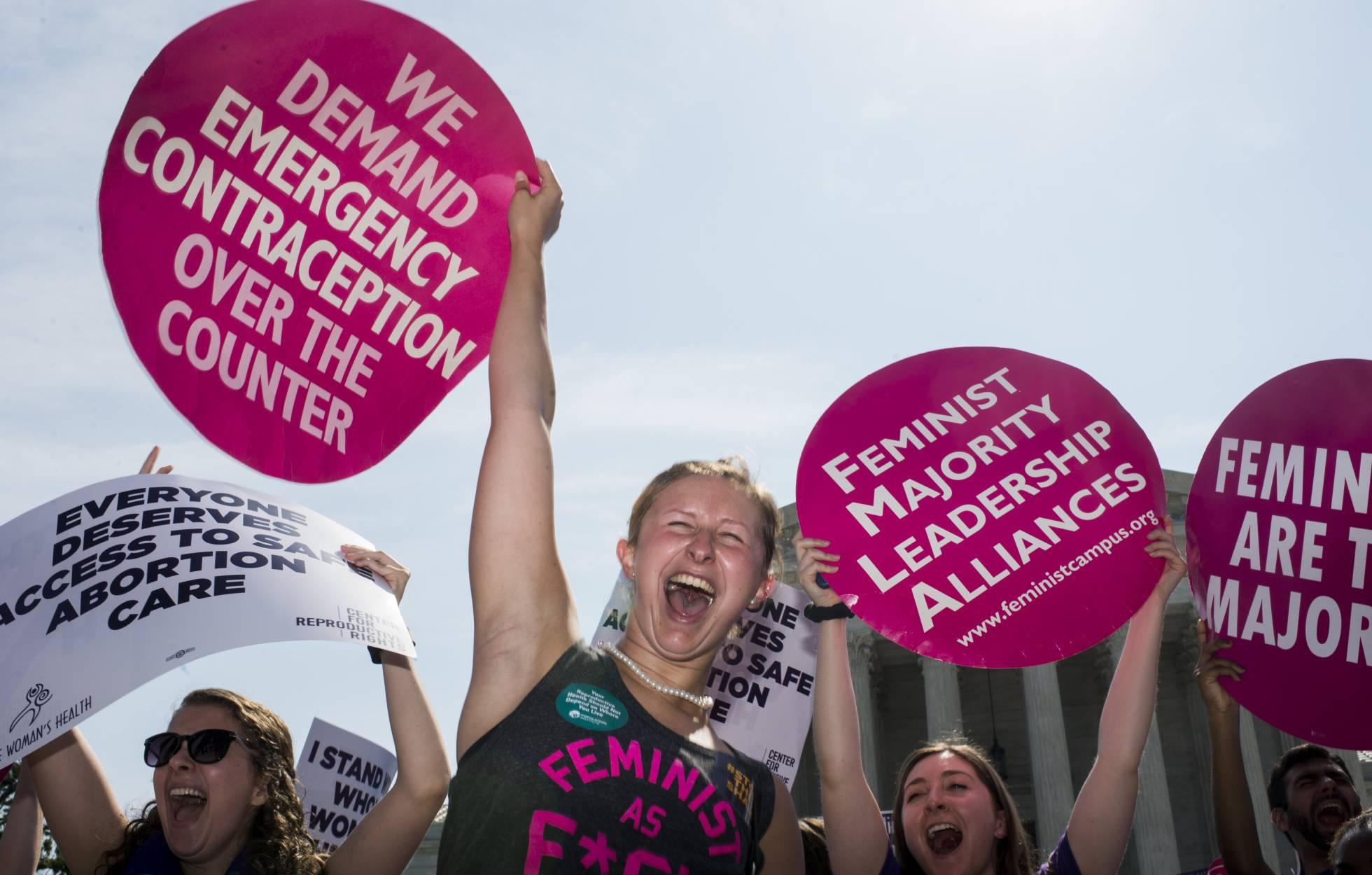 1 protesta feminista EEUU