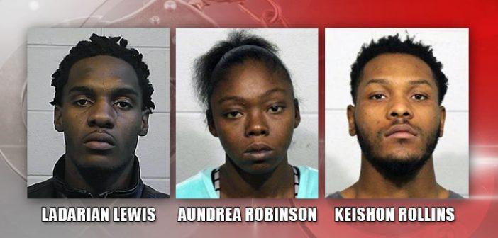 3 personas tras las rejas, despúes de 2 robos esta semana