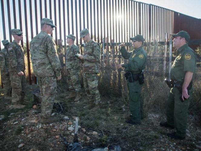 Secretario de Defensa de EU supervisará frontera con México