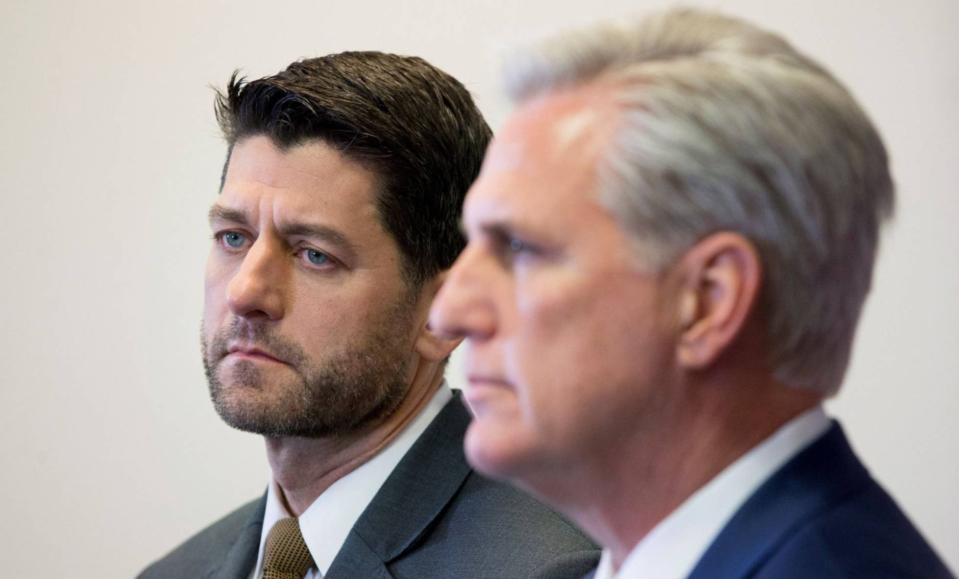 Paul Ryan y Kevin McCarthy
