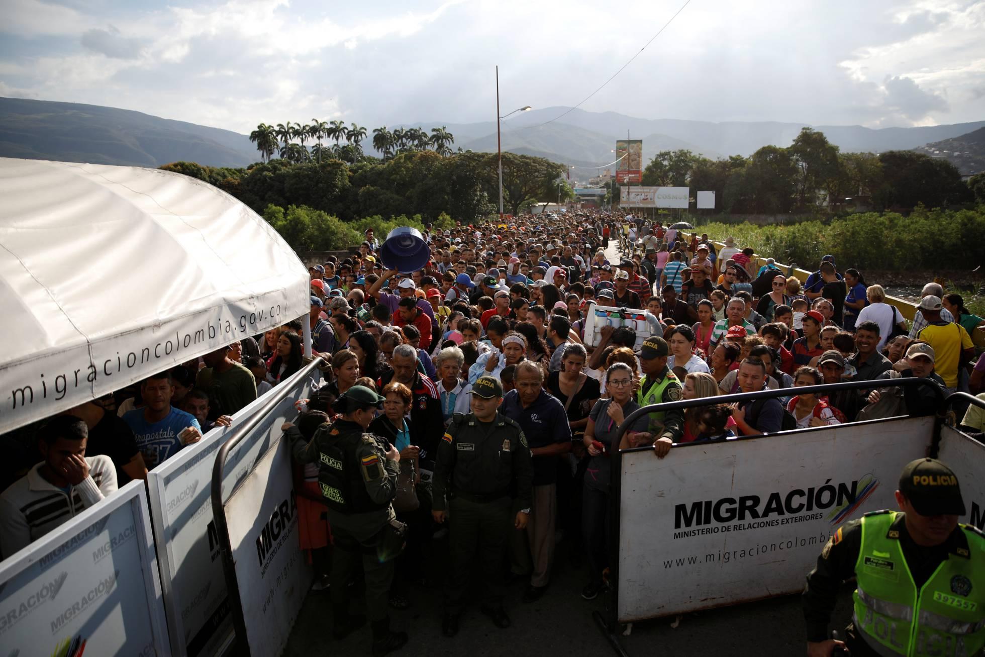 Más del 90% de los venezolanos que viven en Colombia entraron en los últimos dos años