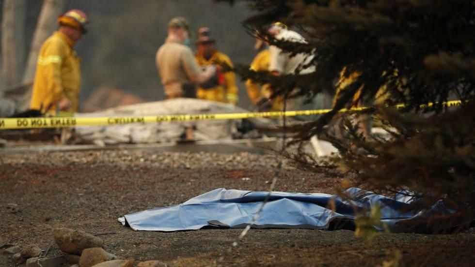 El incendio de Paradise, California, deja 29 cadáveres y más de 200 desaparecidos
