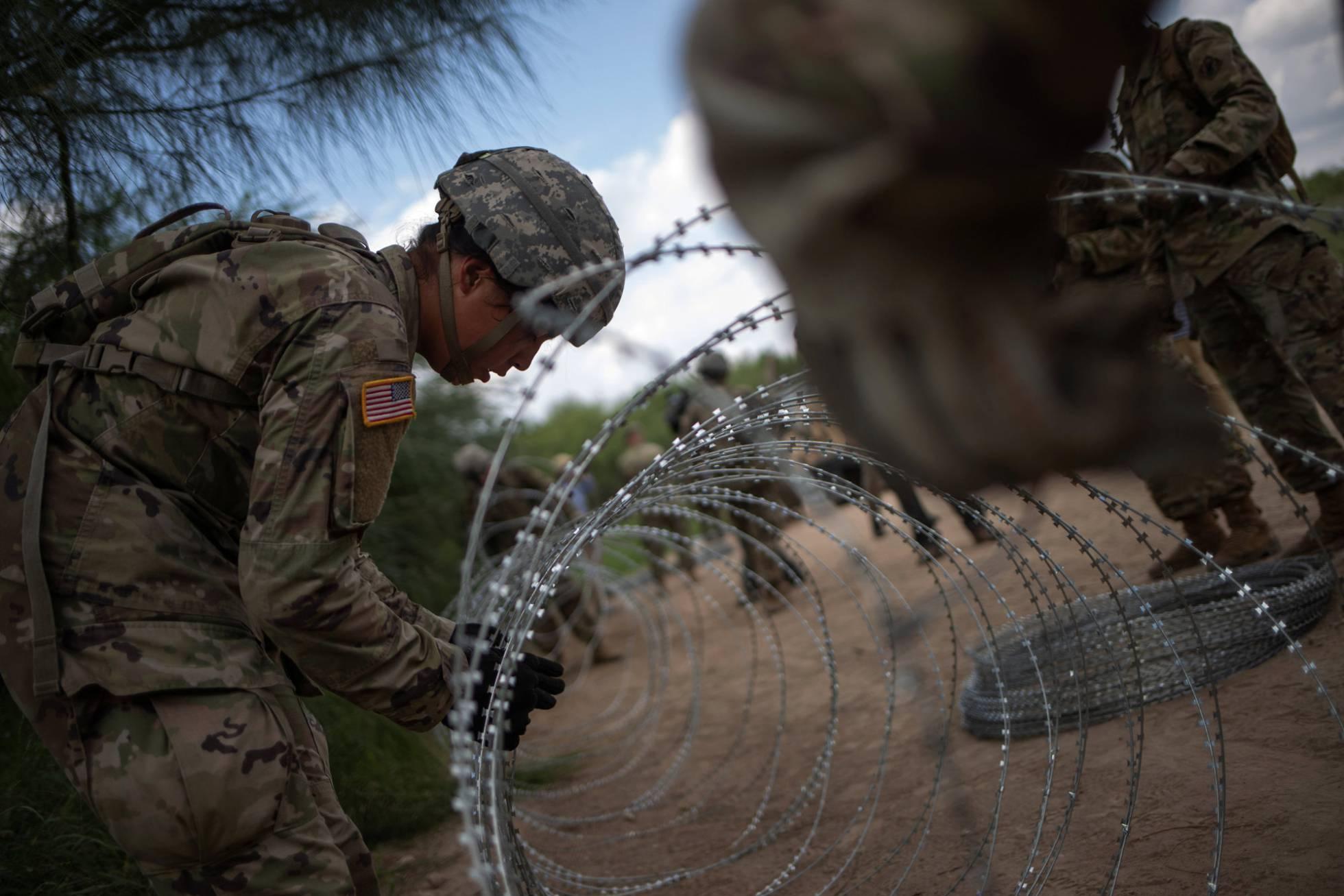 La frontera de Estados Unidos dice 'no' al muro de Trump