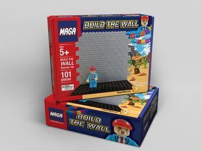 Juego anima a niños a construir muro de Trump y advierte la llegada de 10,000 indocumentados