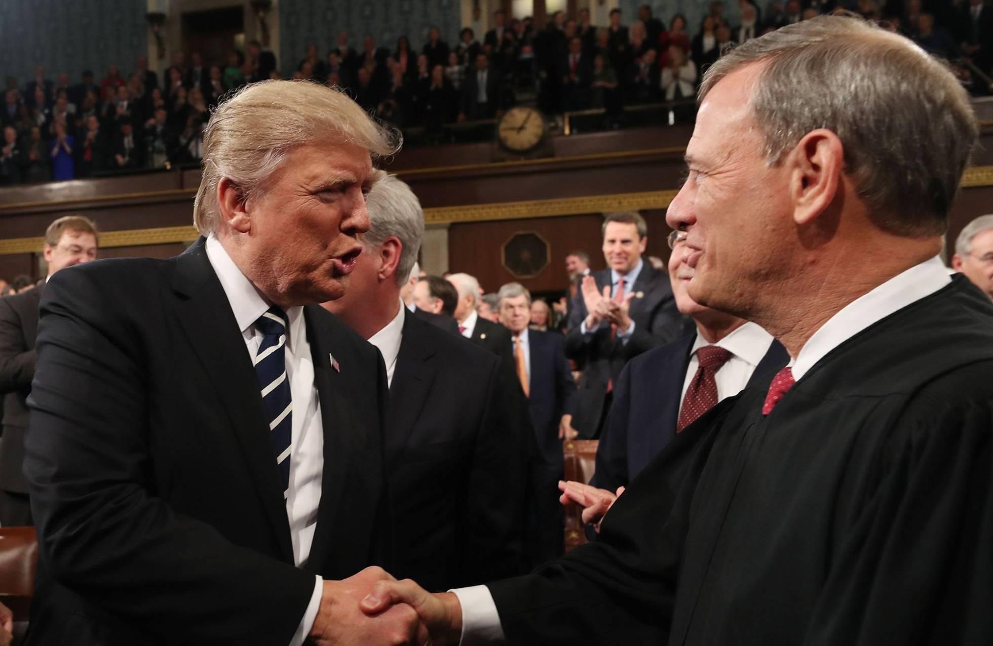 trump y roberts