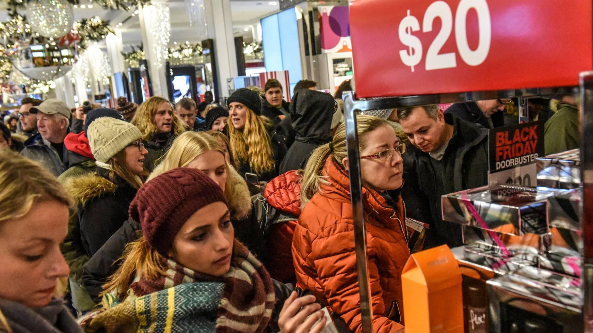 El Black Friday en Estados Unidos: un termómetro de la economía