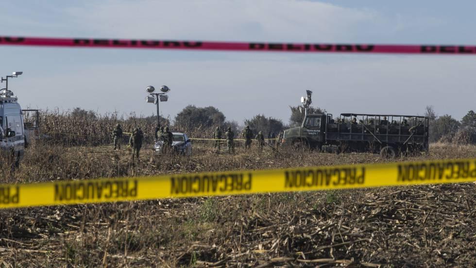 México recurre a ayuda internacional para esclarecer el siniestro aéreo de Puebla