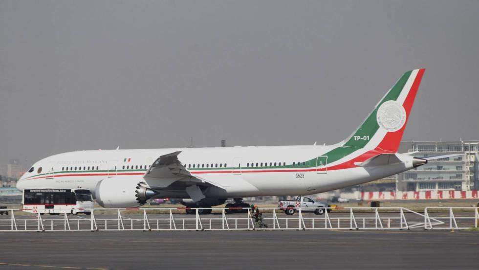 México pone en venta el avión presidencial