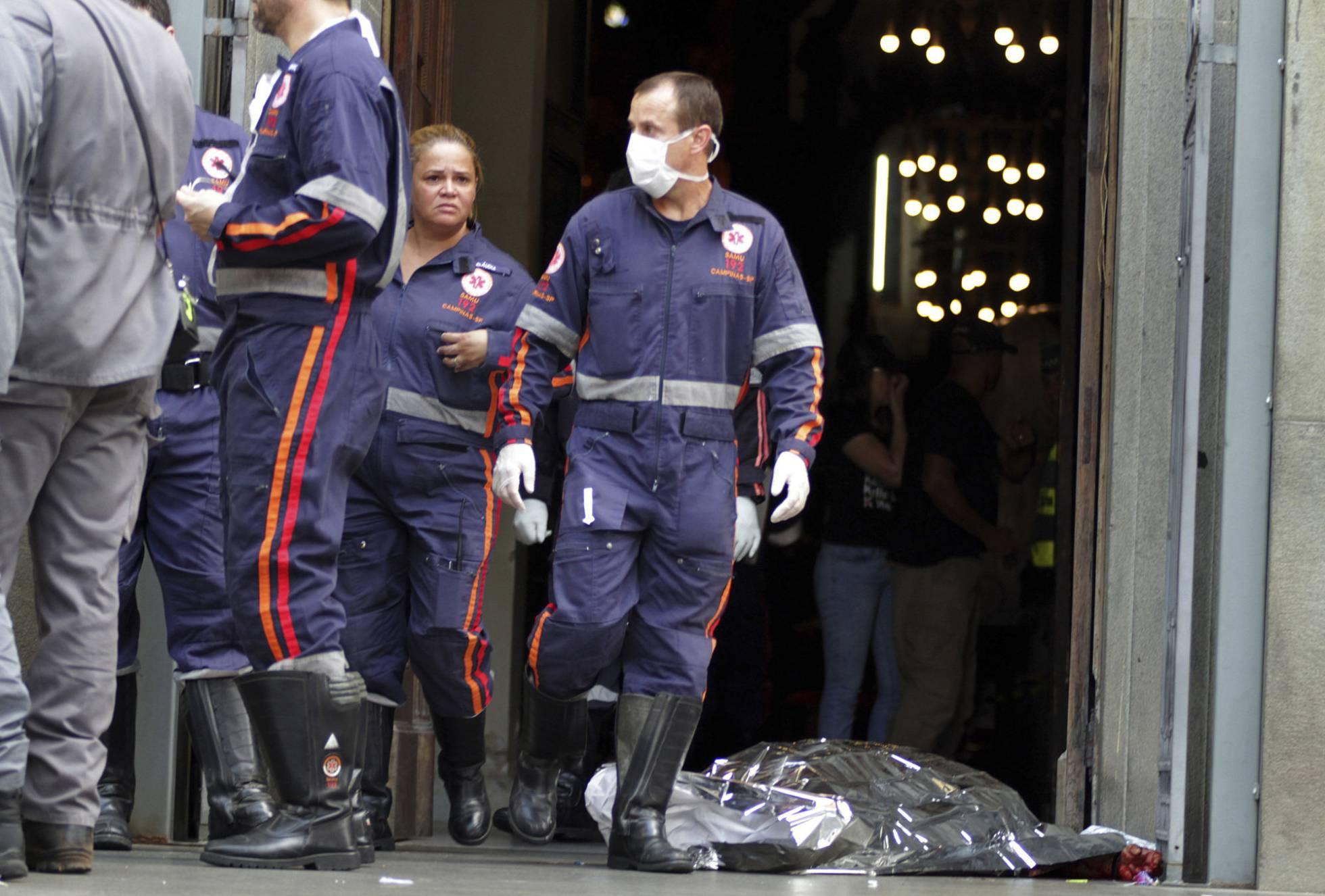 Un hombre mata a cuatro fieles y después se suicida en una catedral de Brasil