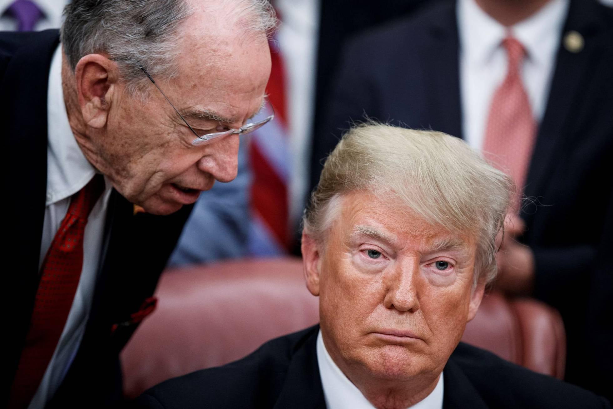 La batalla por el muro lleva a un cierre inminente de parte del Gobierno de EE UU