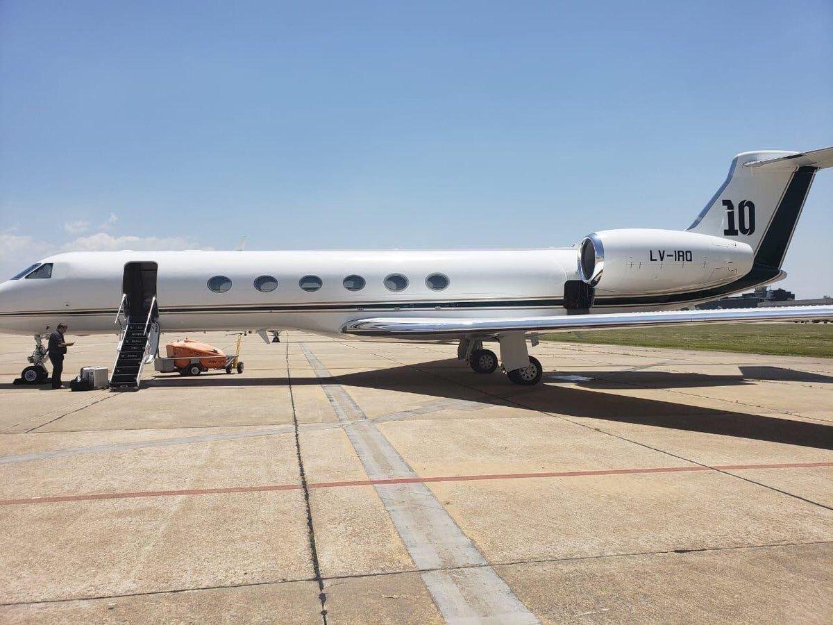 avion messi