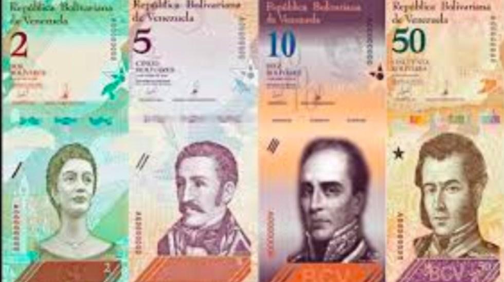 Moneda venezolana se devalúa 43 por ciento en 100 días