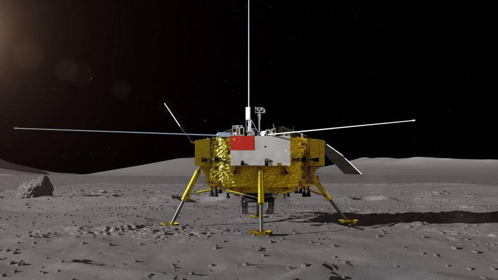 China consigue el primer alunizaje exitoso en la cara oculta de la Luna