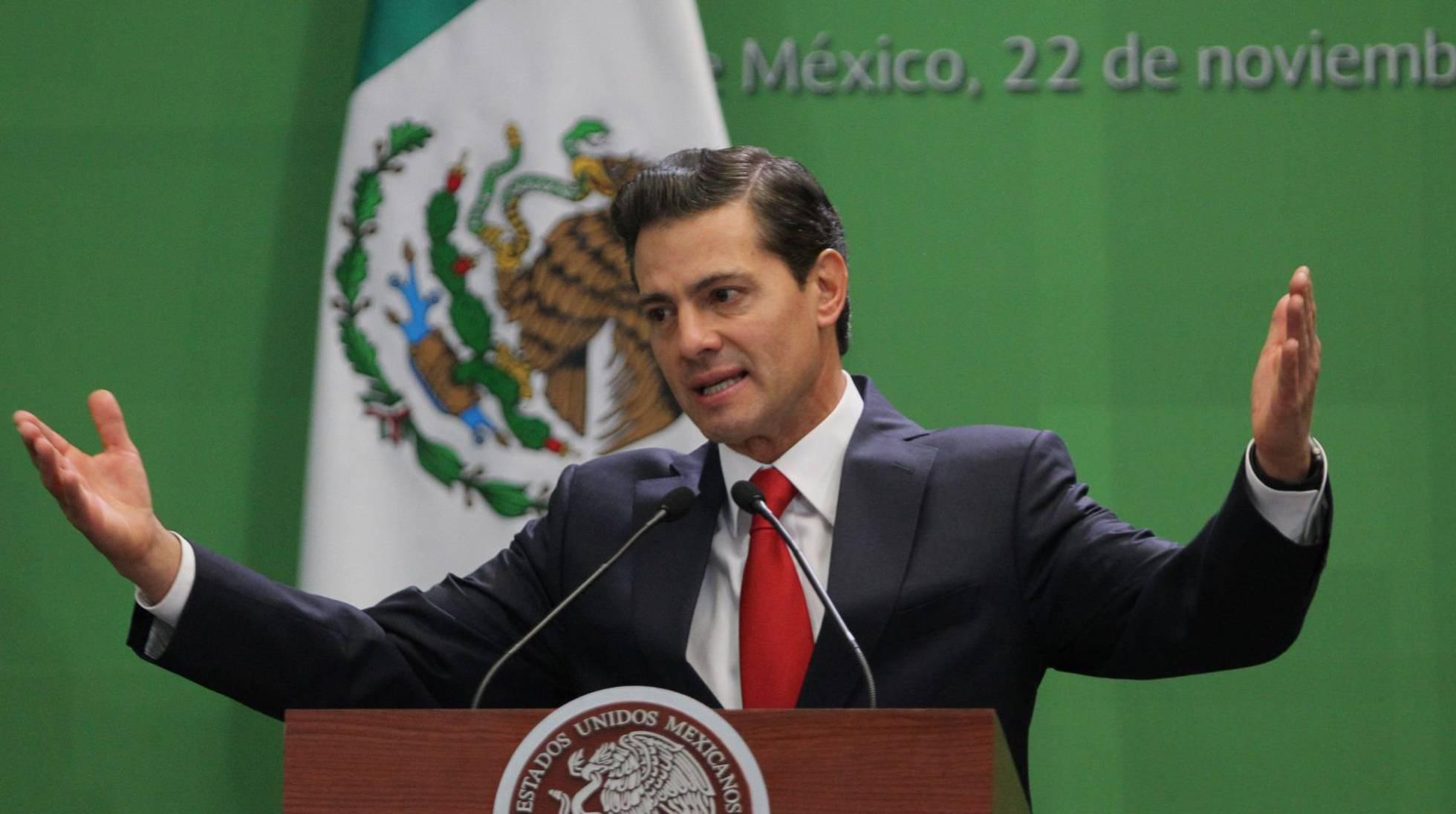 México cae tres posiciones en el índice global de corrupción en el último año de Peña Nieto