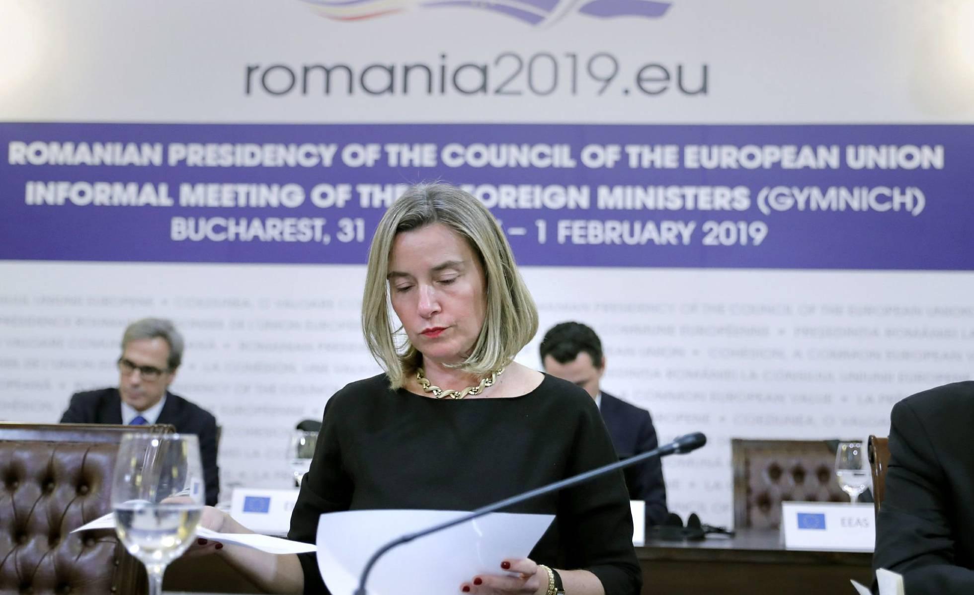 1 jefa de la diplomacia europea