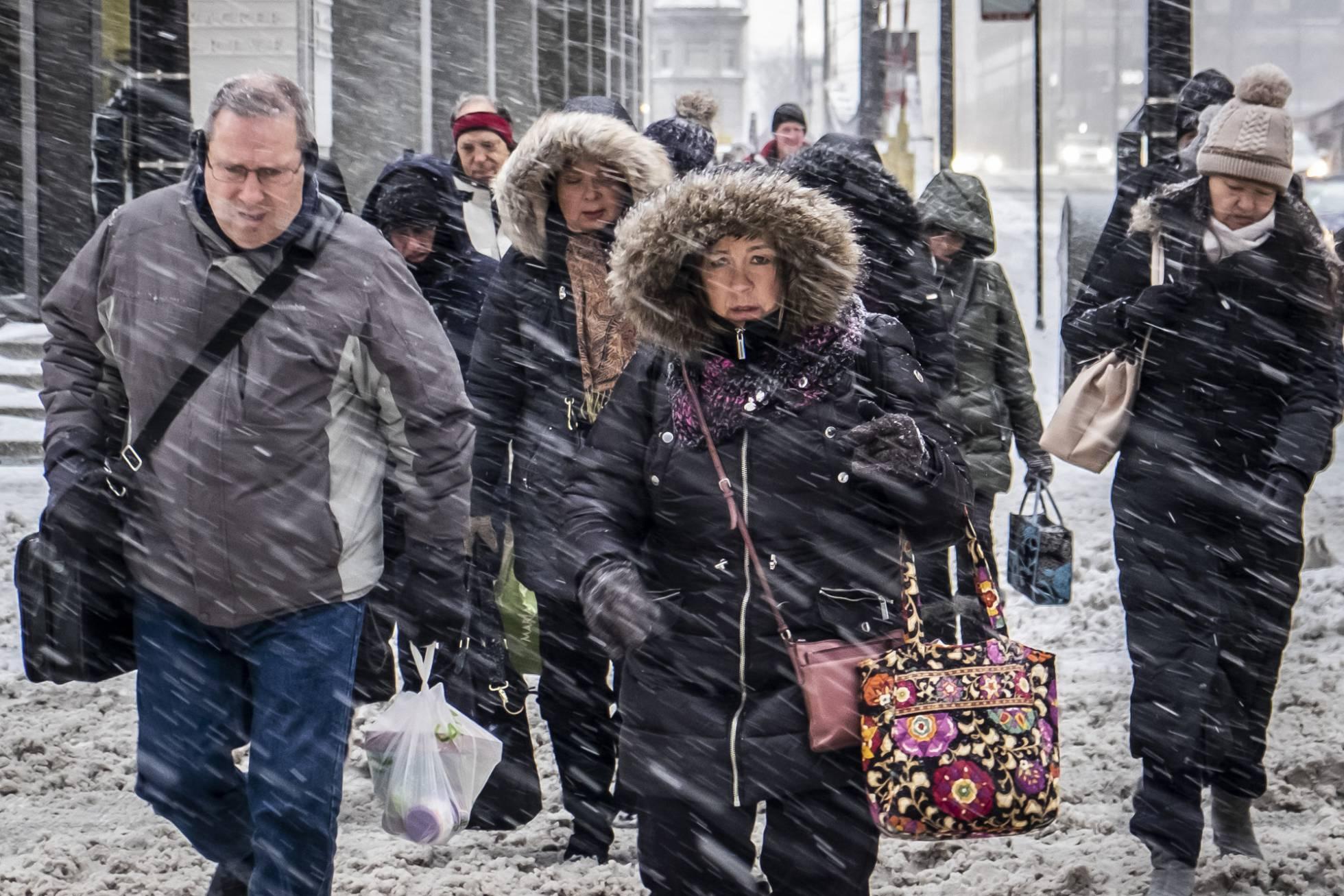 El medio oeste de EE UU se prepara para un frío extremo de hasta 40 grados bajo cero