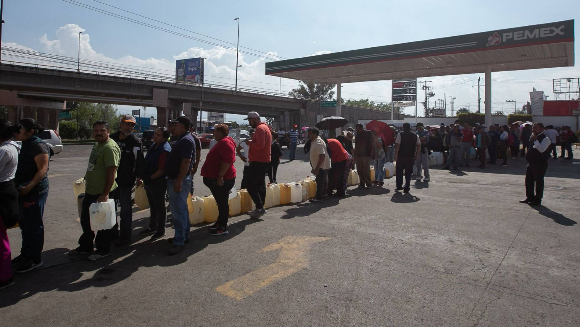 conductores compran gasolina morelia