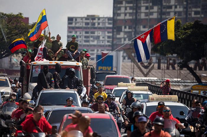 """Maduro dará respuesta """"recíproca e inmediata"""" a quienes no lo reconozcan"""