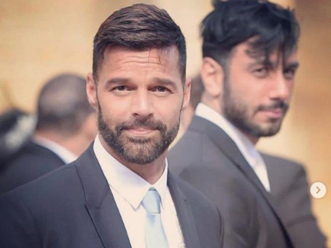 Ricky Martin presume a su primera hija con su esposo Yosef