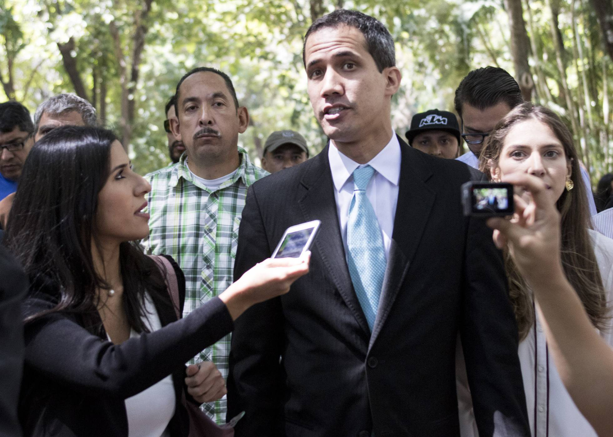 Juan Guaido caracas venezuela