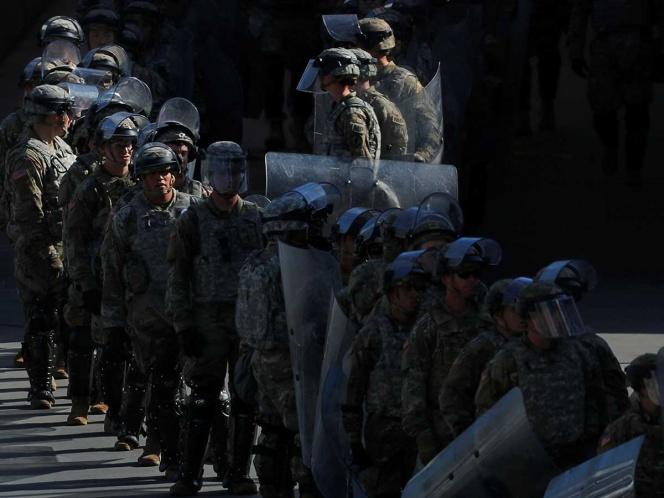 Anuncia EU despliegue de 3 mil 750 soldados en frontera con México