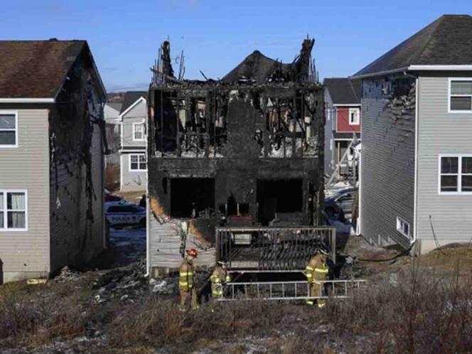 mueren 7 ninos en incendio en canada