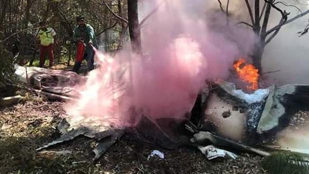 personas viajaban aeronave perdieron vida