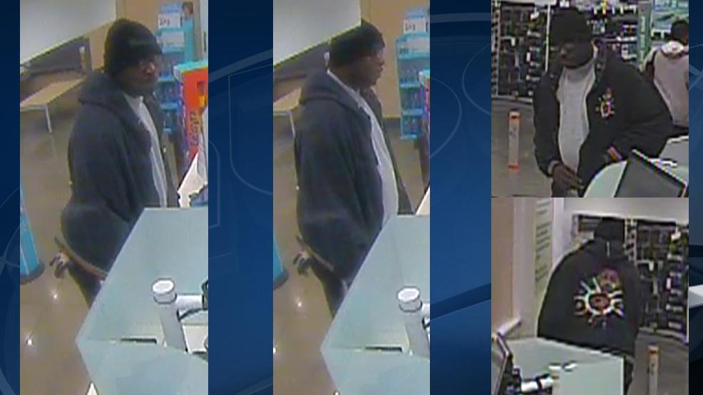 Sospechoso serial buscado en robo a mano armada en Pell City Walgreens