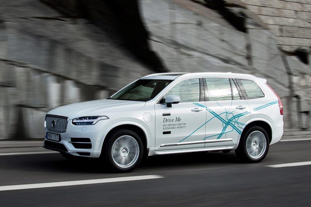Volvo ya tiene la luz verde del gobierno sueco para probar vehículos autónomos