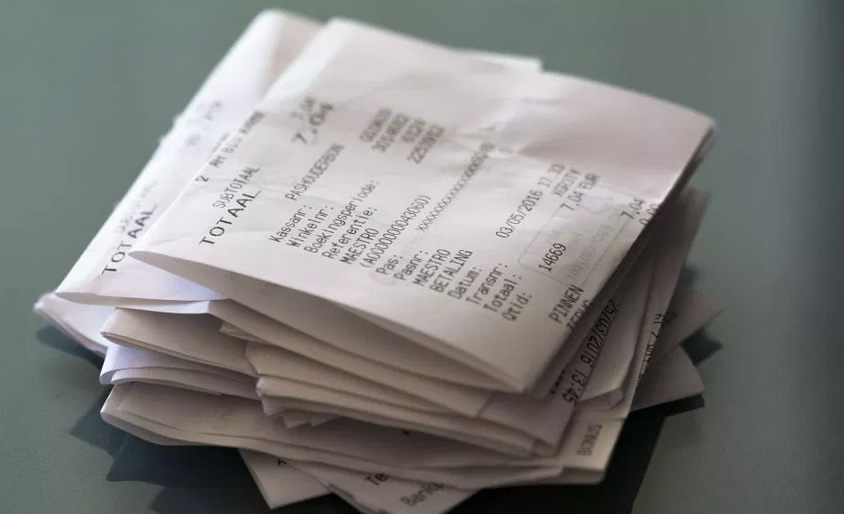 Proyecto de ley busca prohibir recibos de papel en California