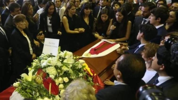 funeral Alan Garcia