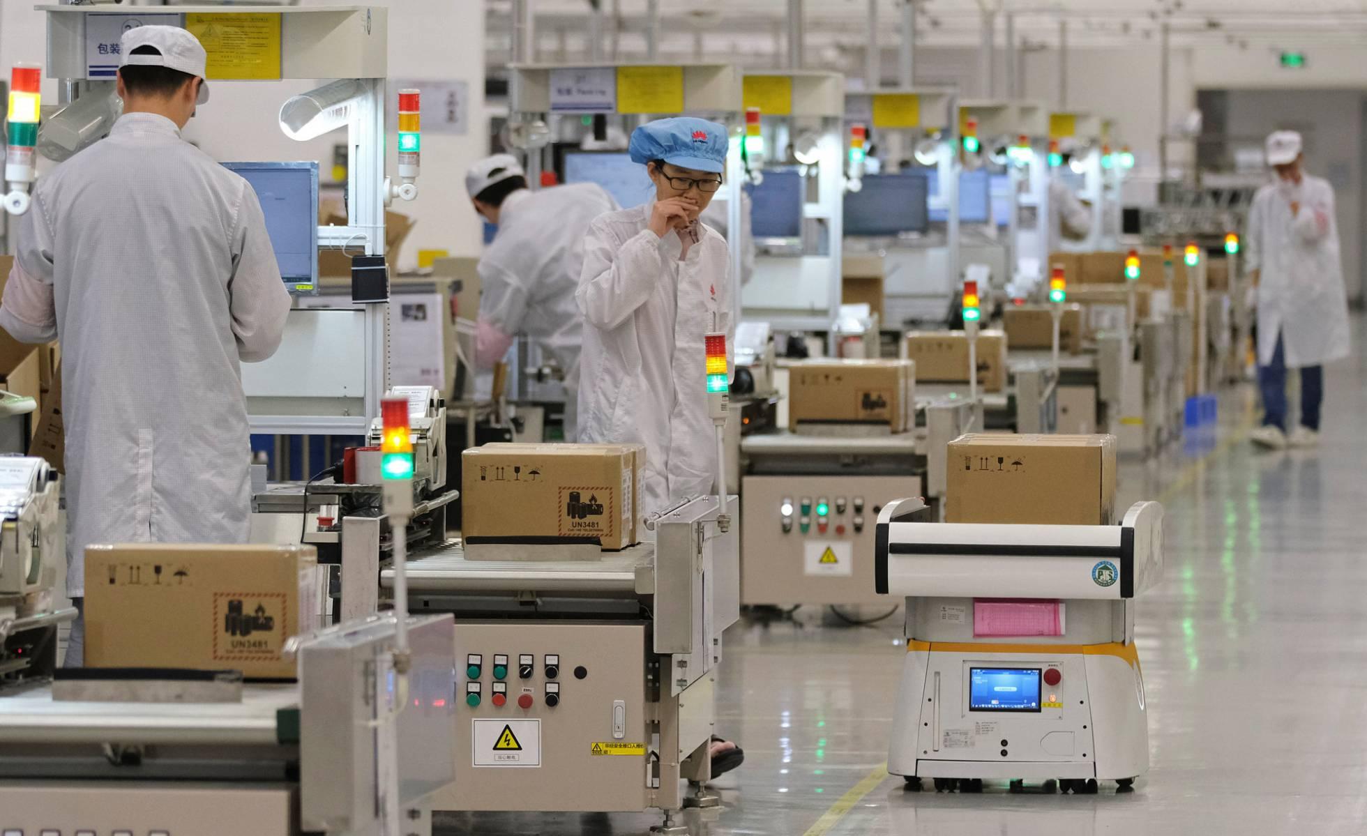 planta de Huawei