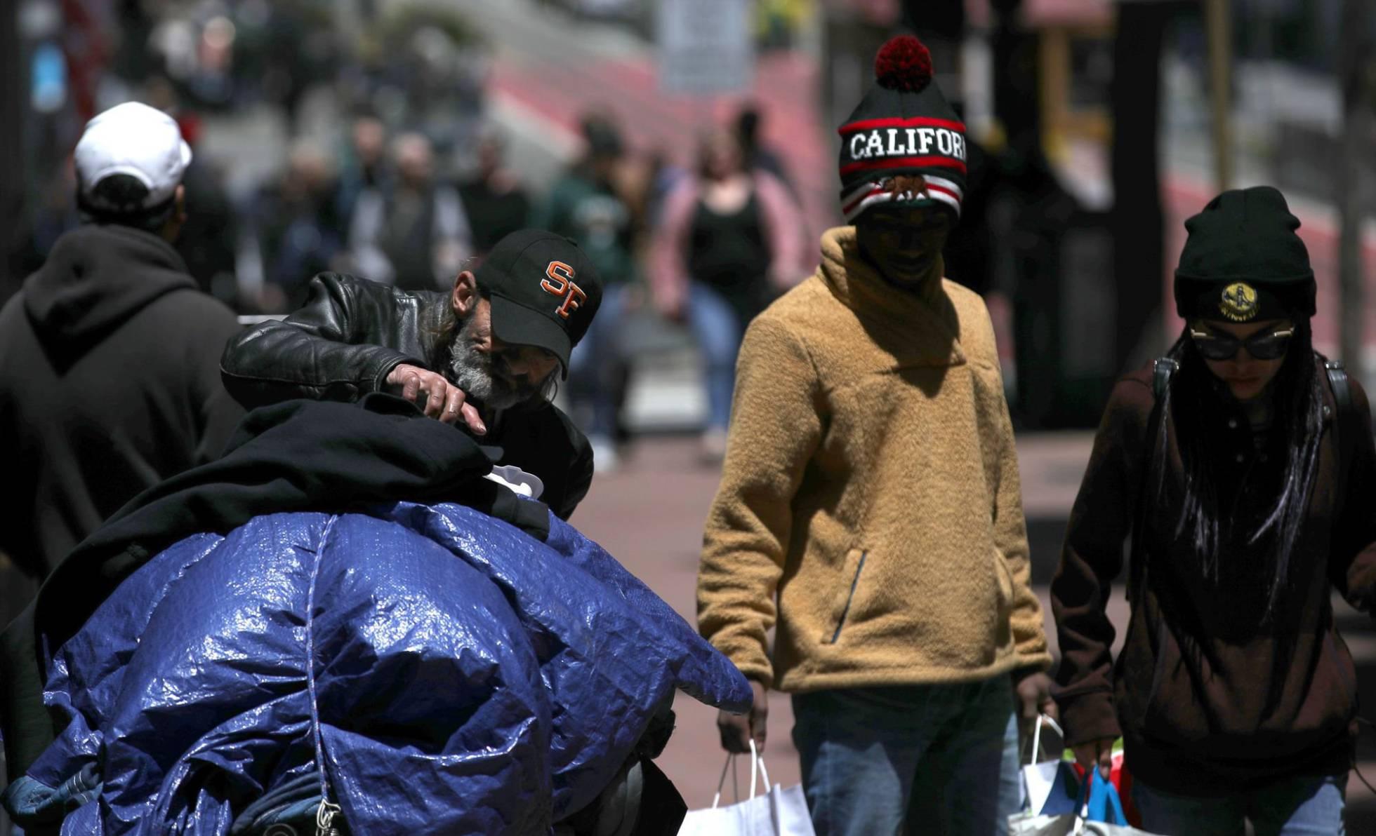 La miseria invade las aceras de San Francisco