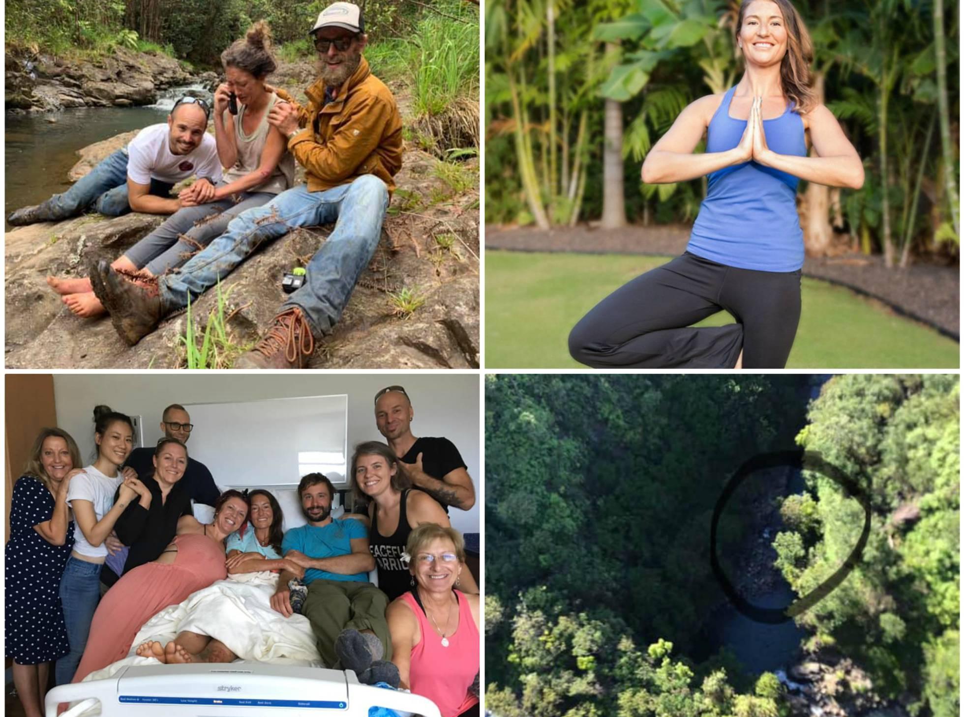 17 días perdida en un bosque de Hawái comiendo polillas y durmiendo sobre el barro