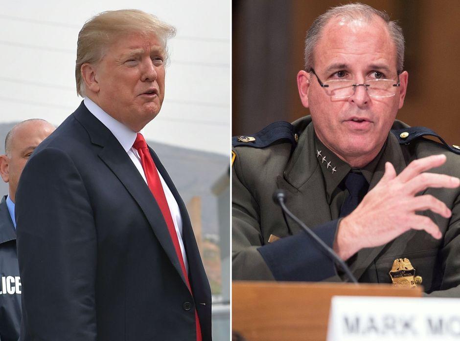 Donald Trump y nuevo director ICE