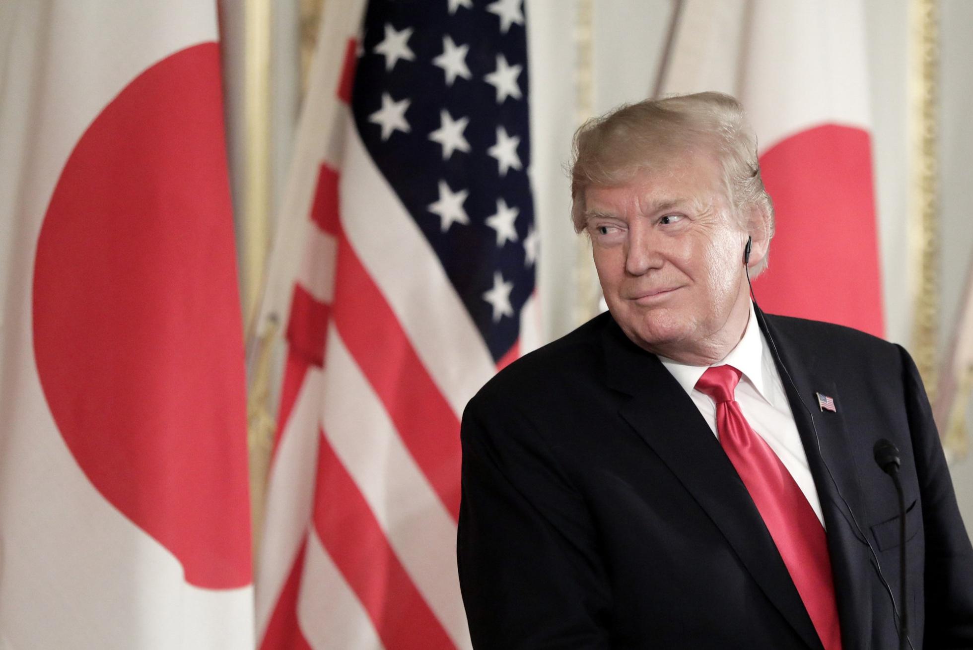 Trump asegura en Tokio que es posible un acuerdo con Irán