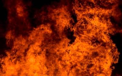 Fuego llamas incendio ilustrativa