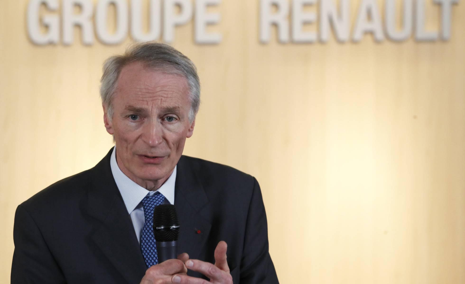 Jean Dominique Senard presidente de Renault