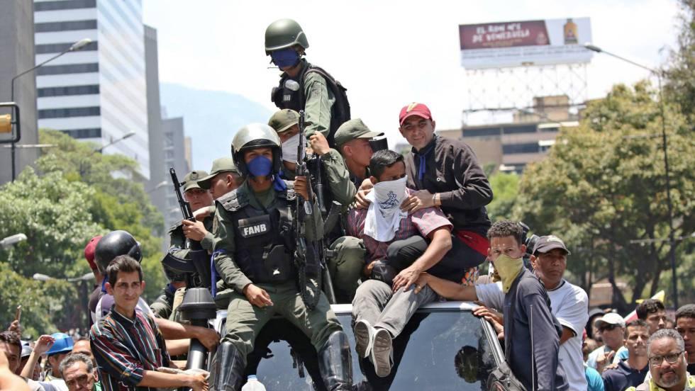Maduro advierte de que no habrá impunidad mientras Guaidó intenta mantener el pulso en la calle