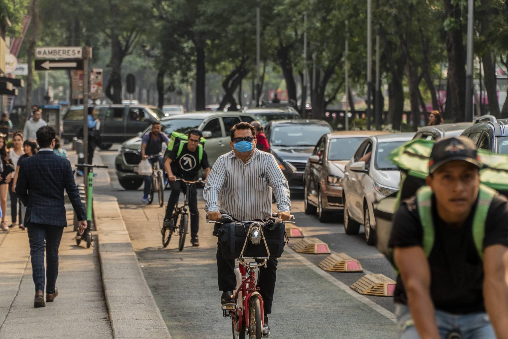 ciclista en