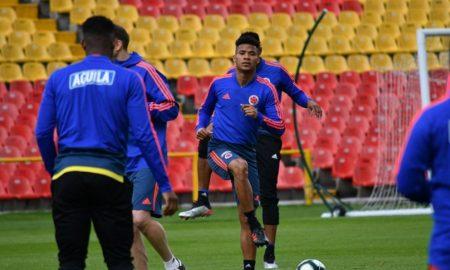 colombia entrenamiento copa america