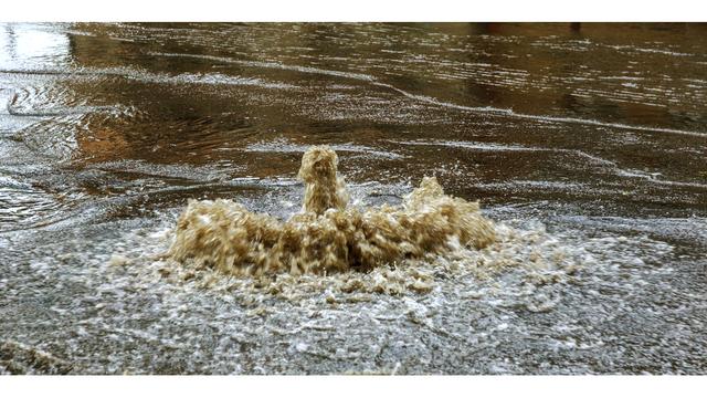 El condado de Jefferson aconseja a los residentes evitar el lago Bayview,  después del derrame 80,000 galones de aguas residuales