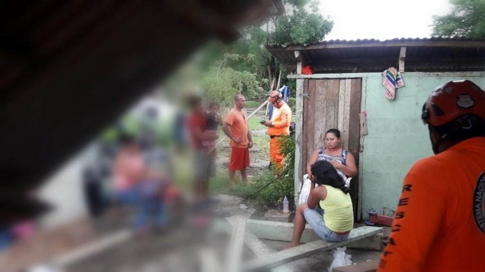 proteccion civil evaluando danos por sismo en panama