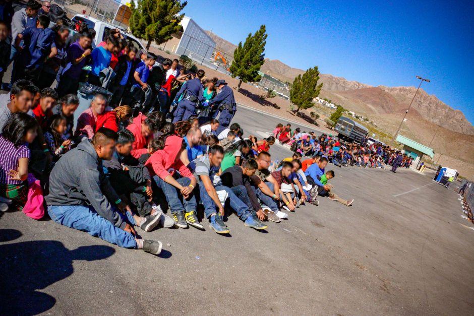 1000 inmigrantes capturado