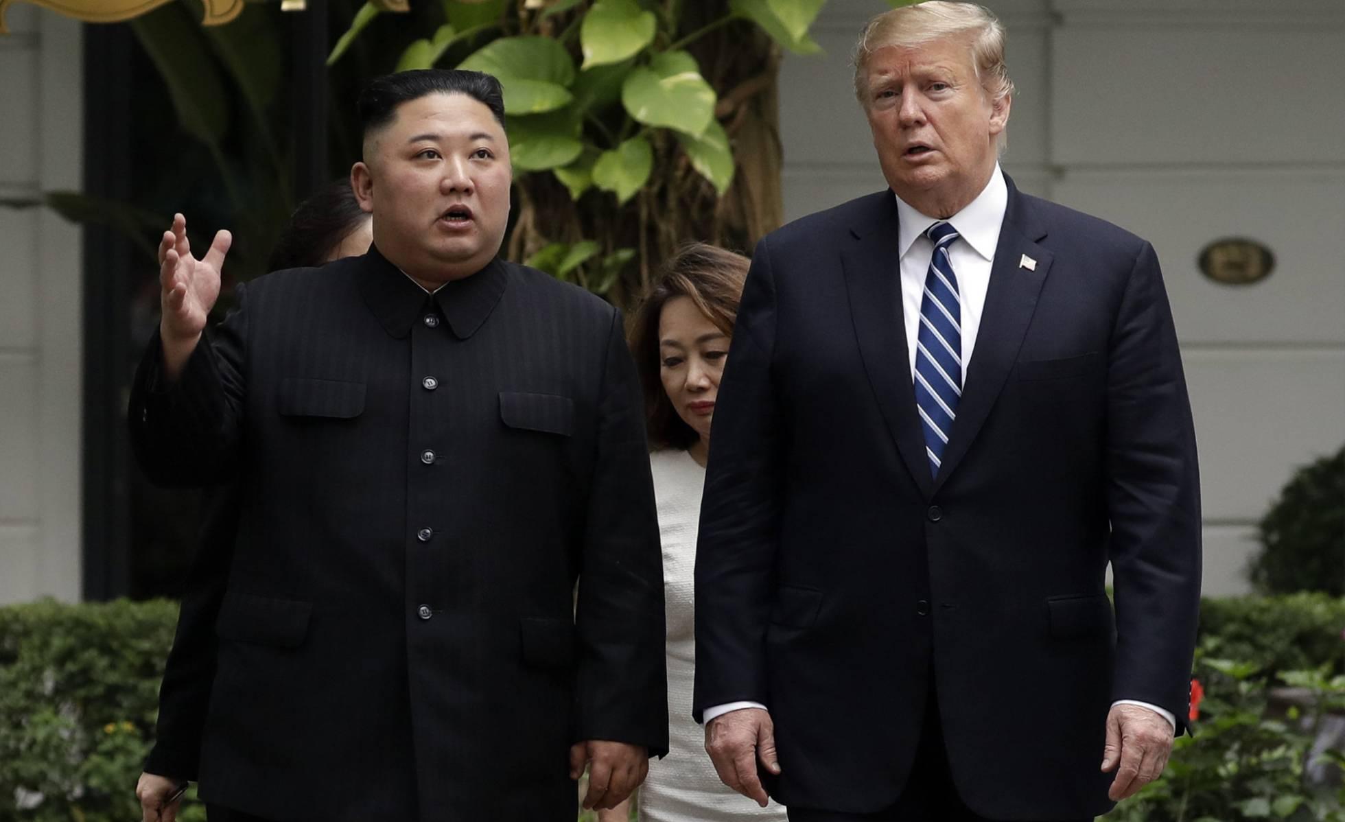 Trump ofrece a Kim reunirse el fin de semana en la frontera intercoreana
