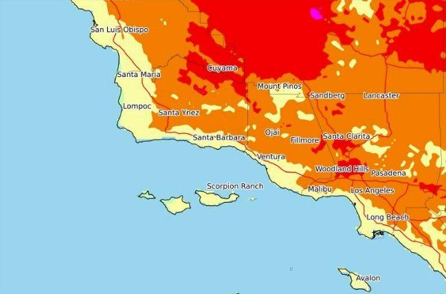 Alerta por ola de calor con temperaturas de hasta 100ºF